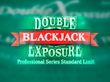 Игровой автомат Double Exposure Blackjack Pro Series от Netent для посетителей веб-сайта